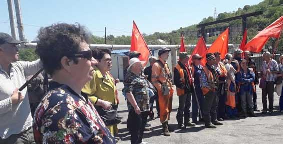 Участники митинга в Петропавловске потребовали смены власти в России (фото)
