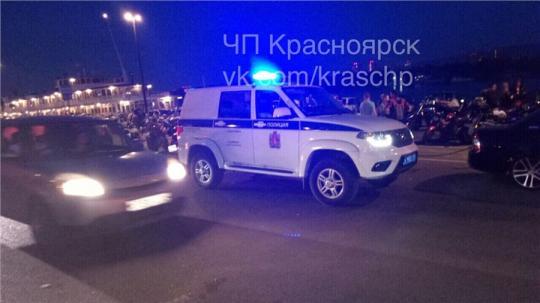 В Красноярске дорожный конфликт едва не закончился стрельбой