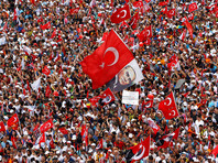 5 миллионов человек вышли на митинг в Стамбуле