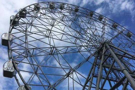 Запуск колеса обозрения в Иркутске снова перенесли