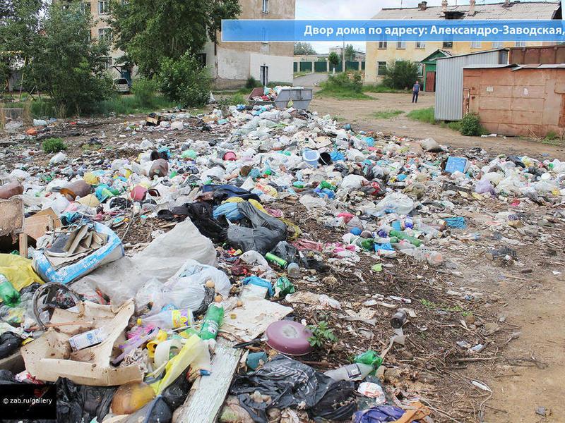 На каждого жителя страны приходится 205 тонн мусора