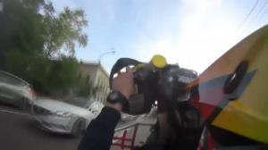 Красноярец на квадроцикле устроил опасные гонки с полицией по центру города