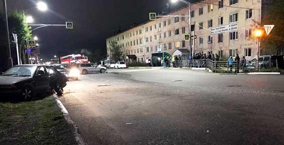 В аварии на перекрестке в Вилючинске пострадала девушка