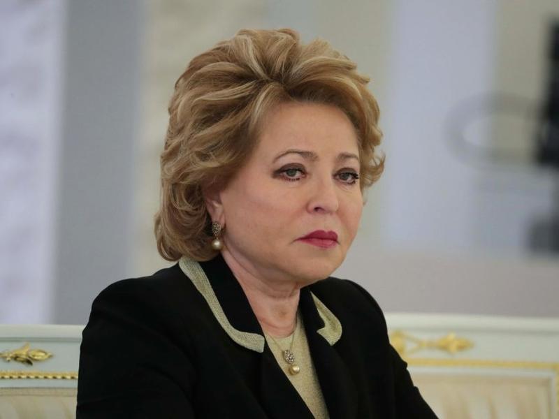 Матвиенко не примет сенаторов из США из-за визита в Забайкалье