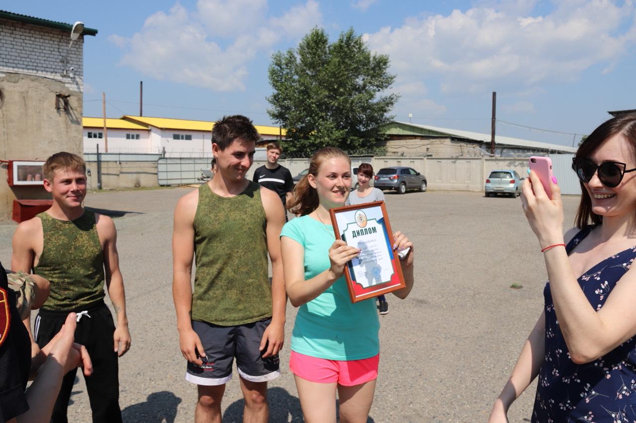 Команда ЗабТВ стала победителем среди СМИ в соревнованиях от Росгвардии