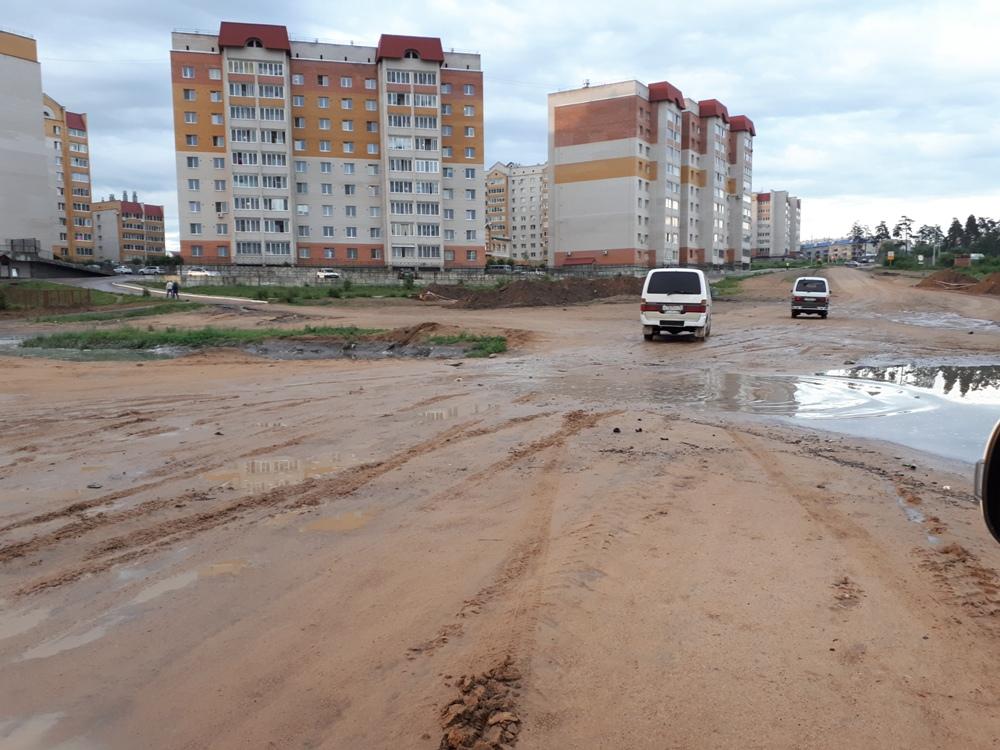 Ливни подтопляют частные дома в центре Читы