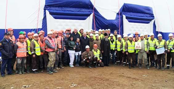 На Камчатке запустили в работу золотоизвлекательную фабрику