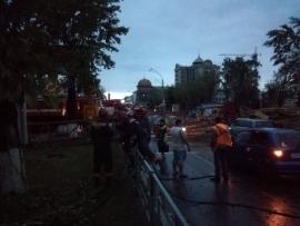 Штормовой апокалипсис в Барнауле