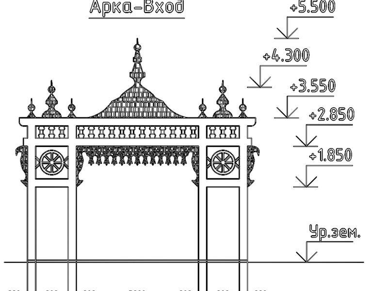 Пятиметровую арку установят в парке Нерчинска за 634 тыс руб