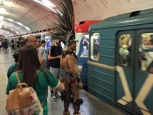 Чемпионат мира по футболу в Екатеринбурге «отметился» необычными кадрами