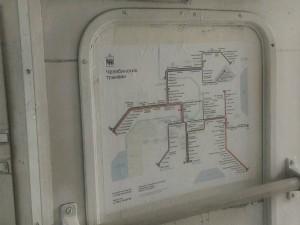 В трамваях Челябинска наконец появилась новая цветная схема