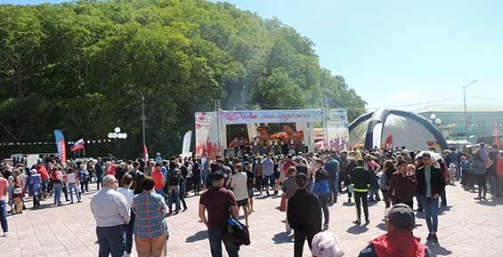 В Петропавловске отпраздновали День молодежи и день образования края