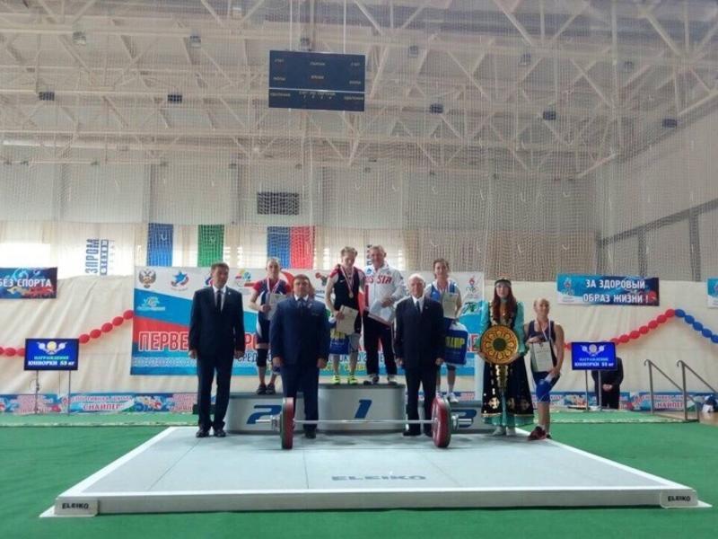 Забайкалки заняли призовые места первенства России в Салавате