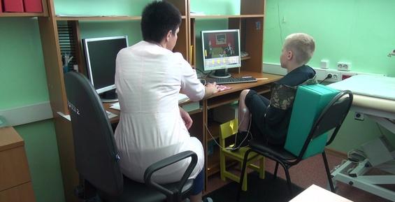 В детскую поликлинику Петропавловска поступило новое оборудование для реабилитации