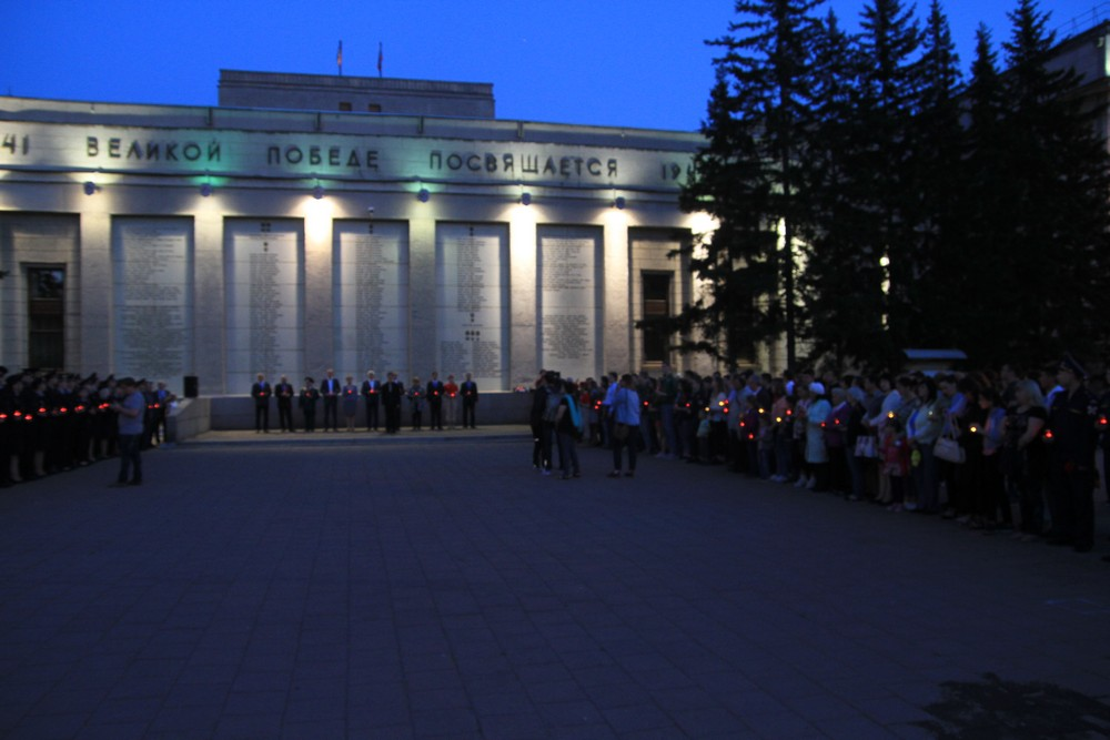 День памяти и скорби в Иркутске. Репортаж Бабра