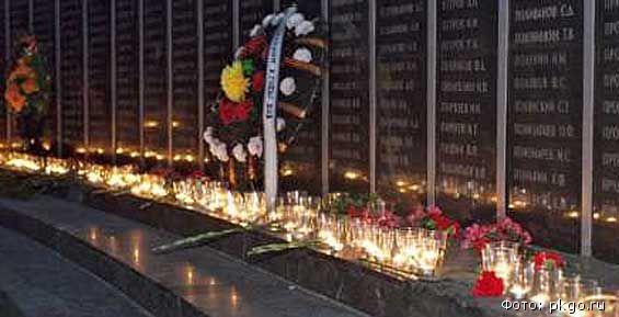 Свечу памяти в Петропавловске зажгут в 4 часа утра в сквере Свободы