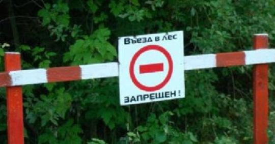 В Приангарье вводится ограничение на въезд граждан в лес
