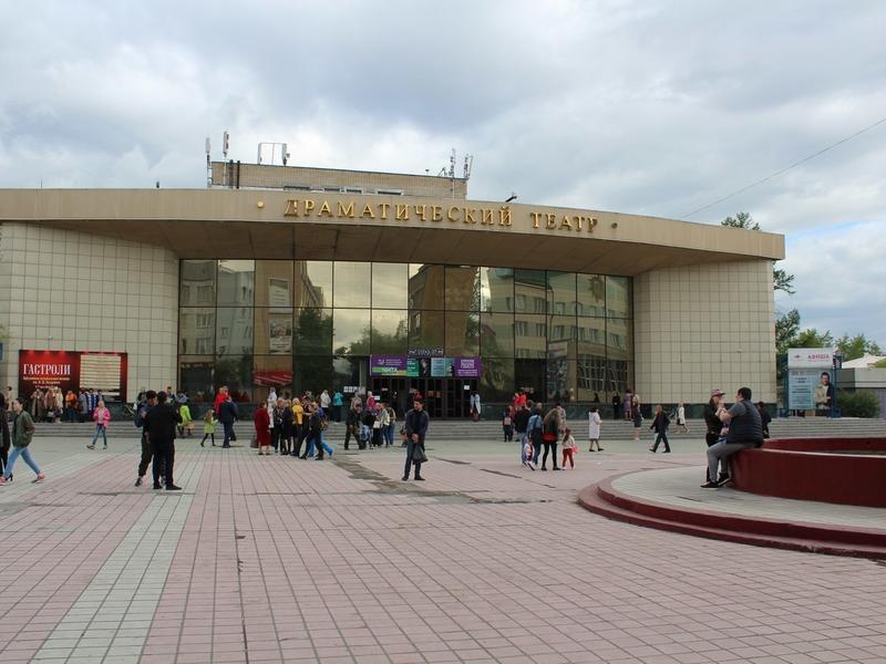 Матвиенко осудила вид Театральной площади в Чите и пообещала поддержку драмтеатру
