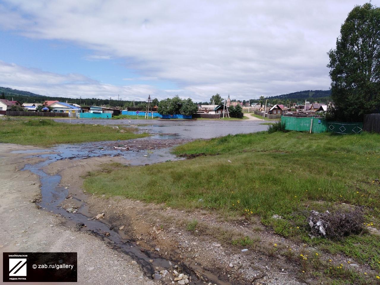 Жители Атамановки обеспокоены поднятием уровня Никишихи