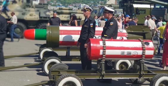 В Петропавловске отпраздновали День Военно-морского флота России (фото)
