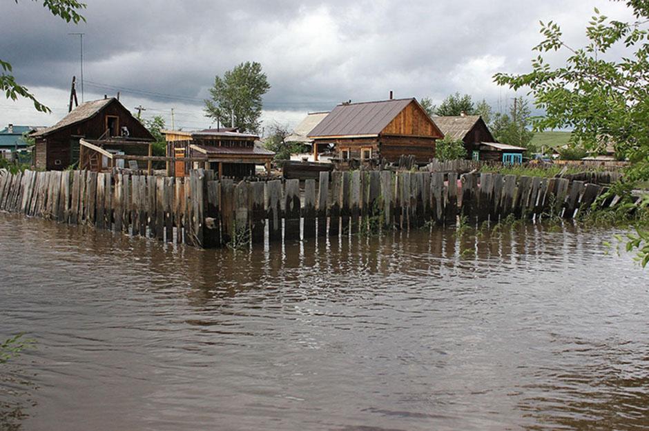 Шилка. Город, ушедший под воду