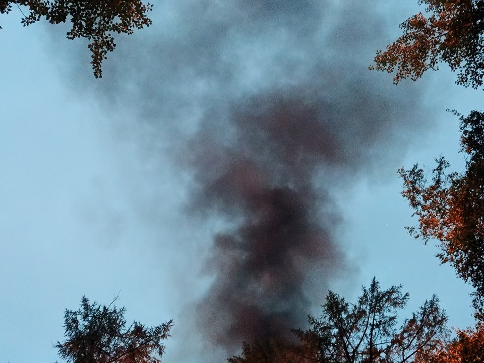 Пациентов санатория на Молоковке под Читой ранним утром эвакуировали из-за пожара