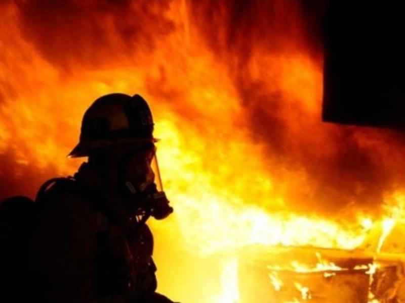 Частный  дом полностью сгорел в Чите