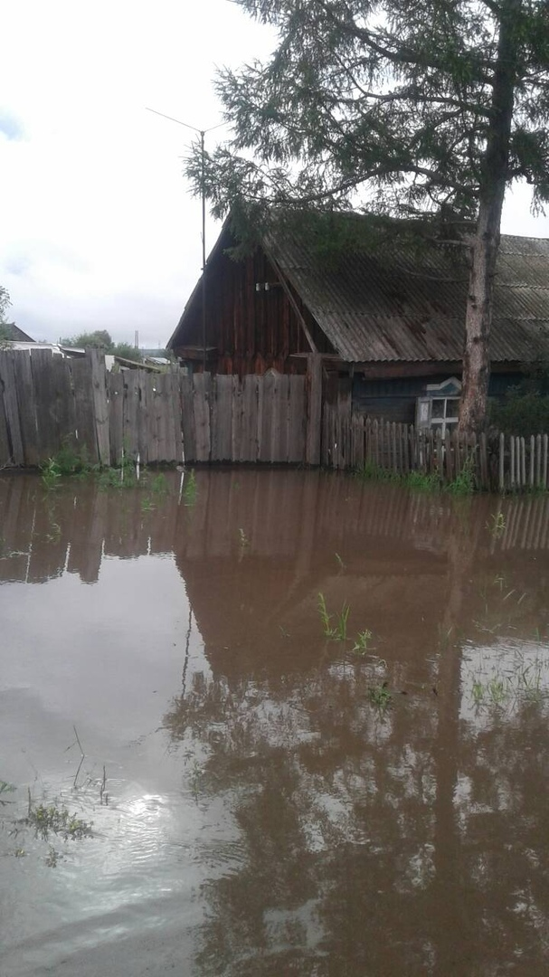 Жители Шилки остались без транспортного сообщения из-за разлива Кии