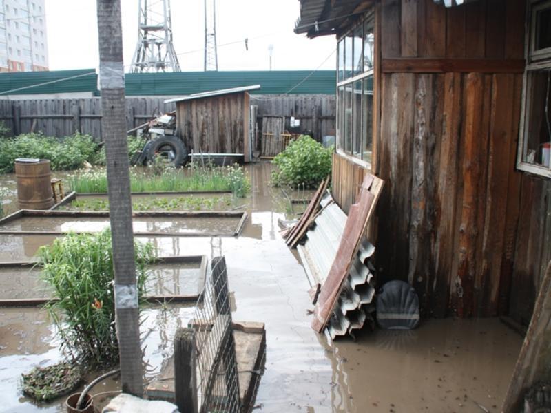 Забайкальцы могут сообщать о подтоплениях и разрушениях от дождей Заб.ру