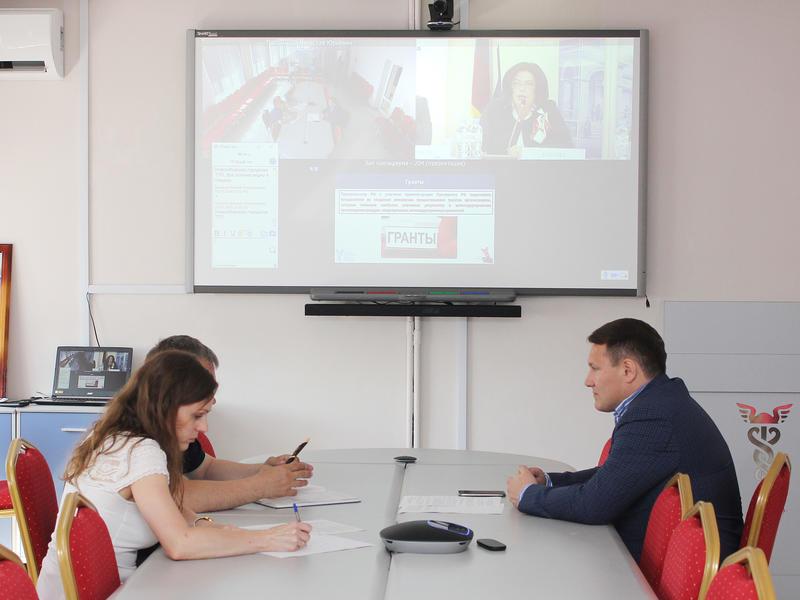 Союз «Забайкальская ТПП» впервые участвовал в видеоконференции с руководством торгово-промышленных палат РФ