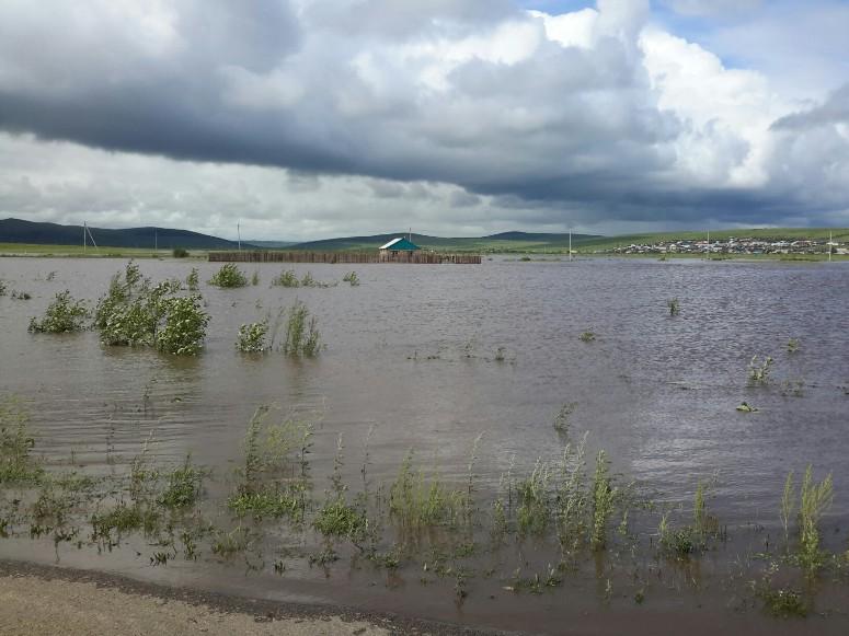 О ситуации в пострадавшей от паводка Шилке рассказал корреспондент Заб.ру