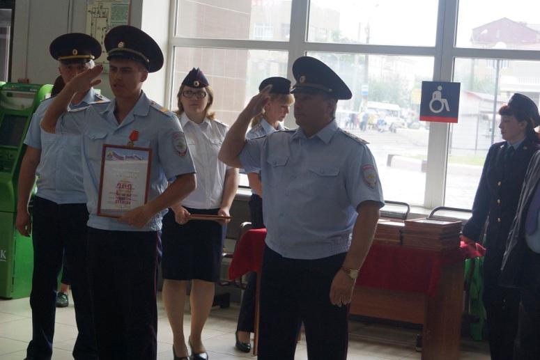 В Читу вернулись 66 транспортных полицейских, работавших на ЧМ-2018