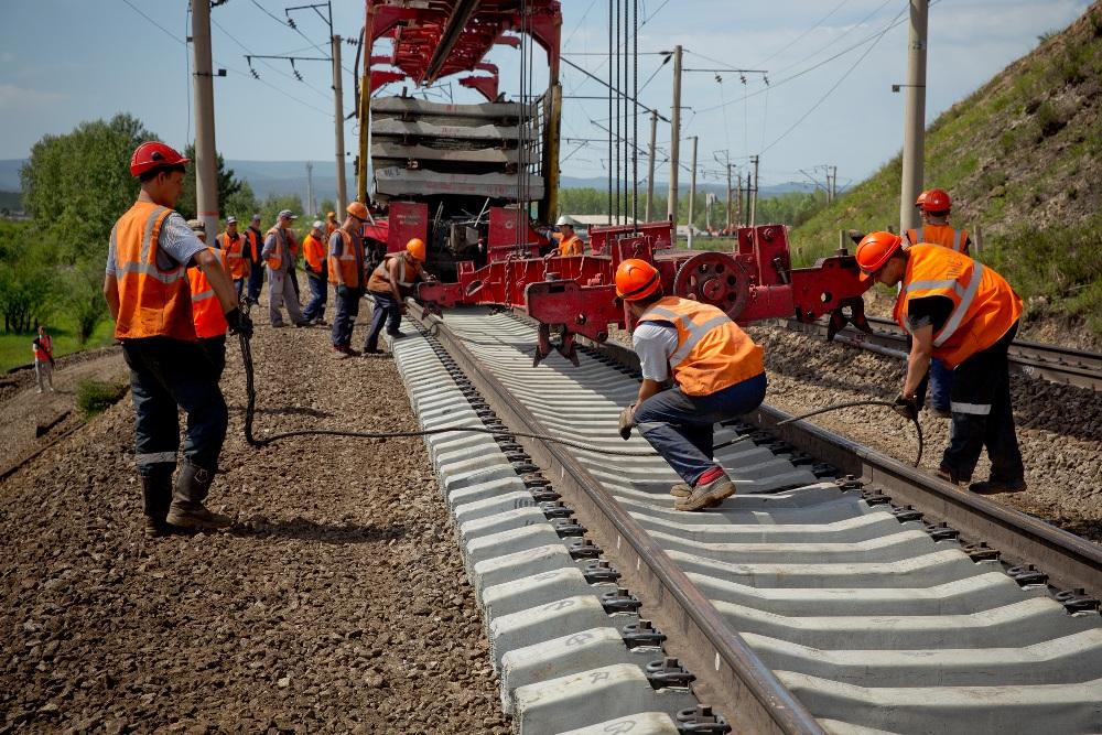 ЗабЖД отремонтировала 231 км пути в апреле-июне