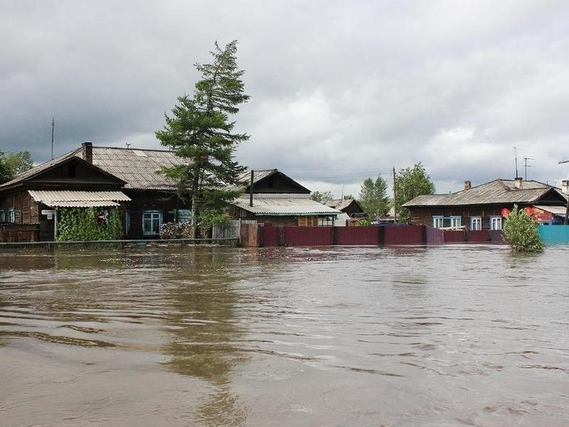 Число подтопленных территорий Забайкалья выросло на 1 район и 11 населенных пунктов