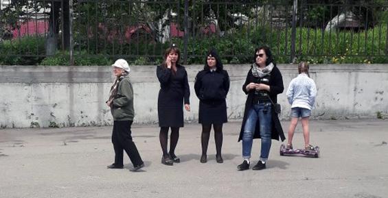 В Петропавловске прошел пикет против пенсионной реформы (фото)