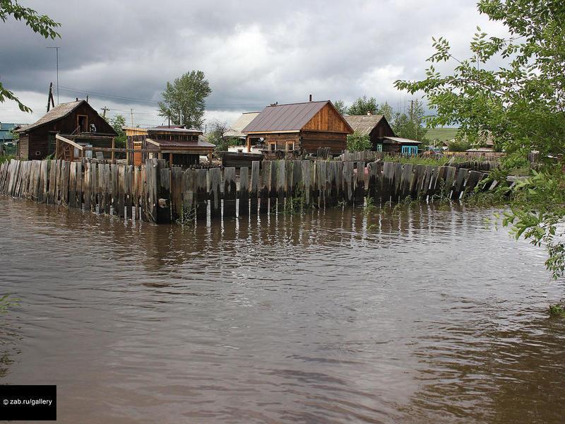 Более 100 забайкальцев получат по 100 тыс руб за полную утрату имущества при наводнении