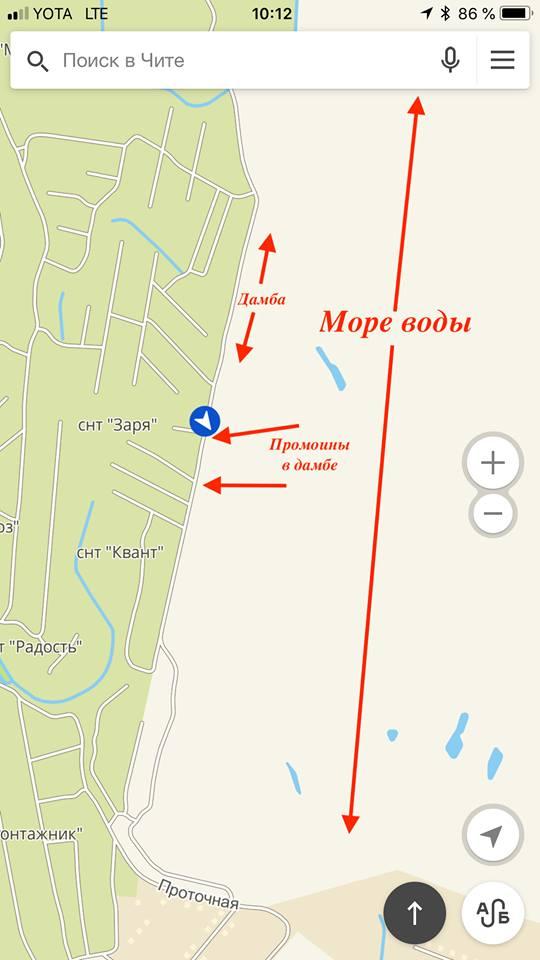Дамбу в Смоленке промыло в двух местах – Плюхин