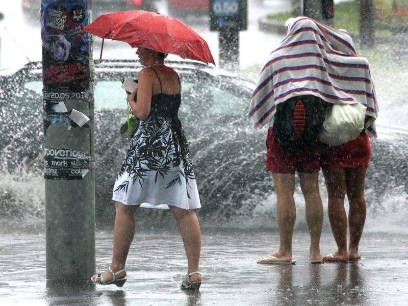 Дождливый циклон уходит на северо-восток - Гидрометеоцентр