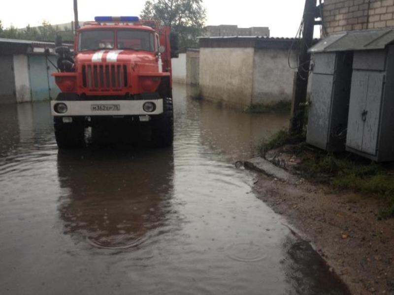 Гаражный кооператив, где уже «утонули» автомобили, снова может затопить – читинец