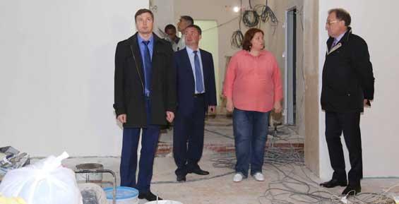 В сентябре новый спортивный зал откроется в школе № 40 в Петропавловске