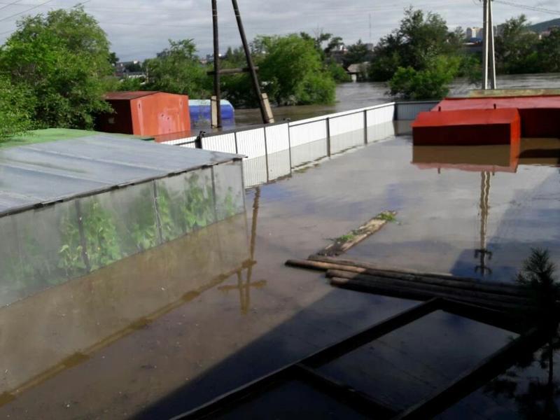 Жители семи районов Забайкалья недополучат около 1520 т урожая из-за наводнения
