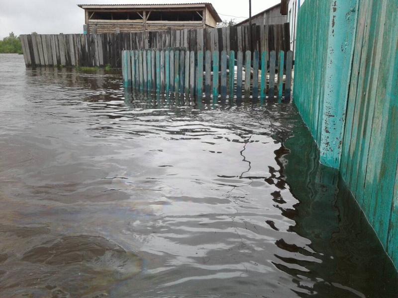 Жителей Берегового Читинского района эвакуировали из-за подтопления