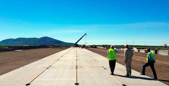 Власти требуют от подрядчика завершить реконструкцию аэропорта в Оссоре в этом году