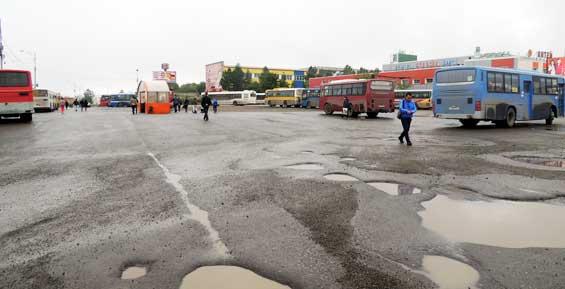 Мэрия Петропавловска обещает в срок завершить обустройство автостанции