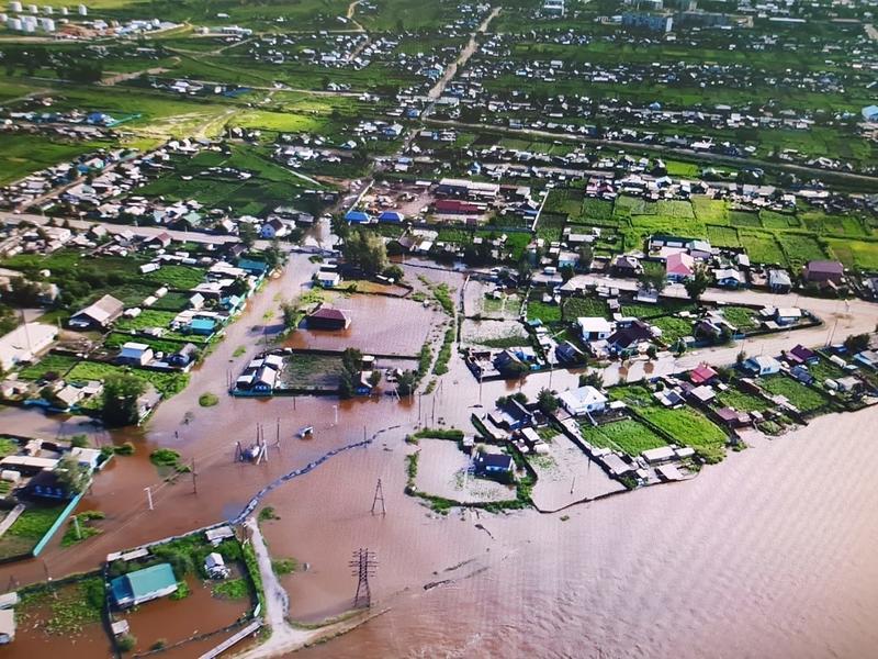 Около 2 тыс домов и дач остаются затопленными в Забайкалье