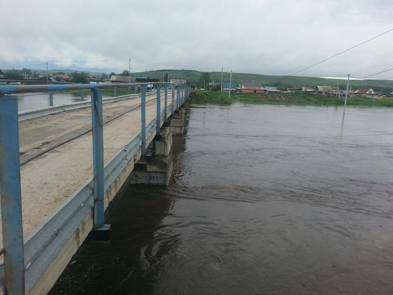 Минтер рассказал о состоянии подтопленных дорог в Забайкалье