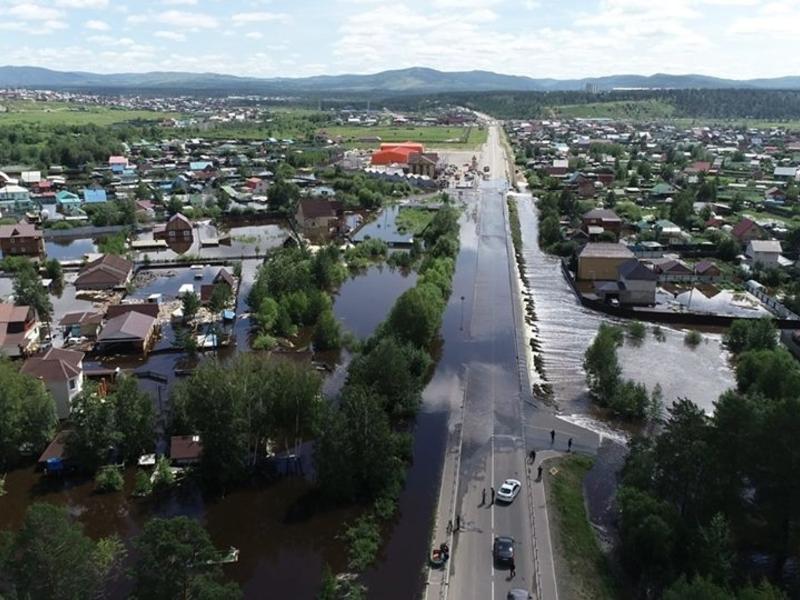В Чите начались выплаты 10 тыс руб пострадавшим от наводнения