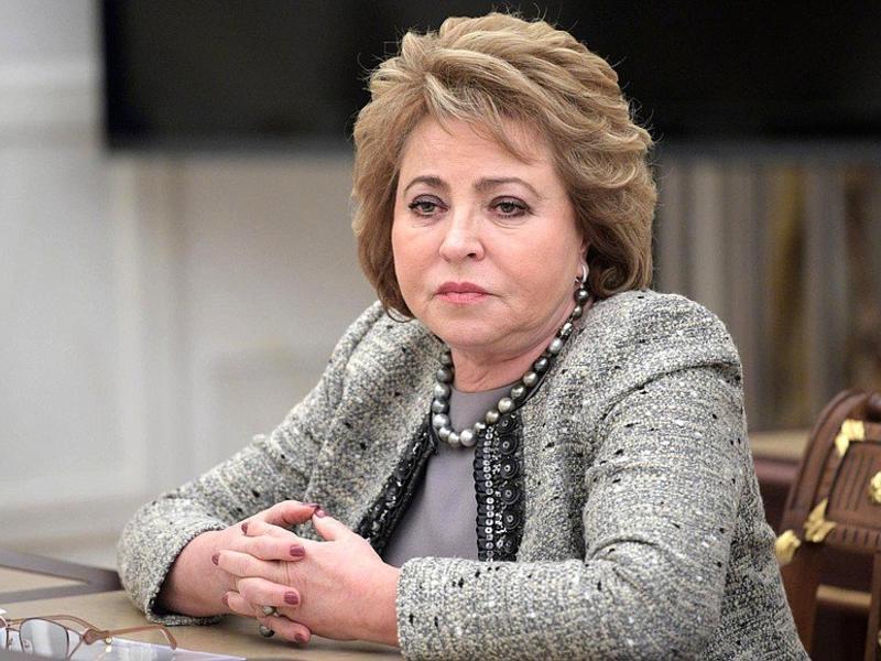 Матвиенко пригрозила главе УМВД края проверками из-за поджогов и вырубки леса