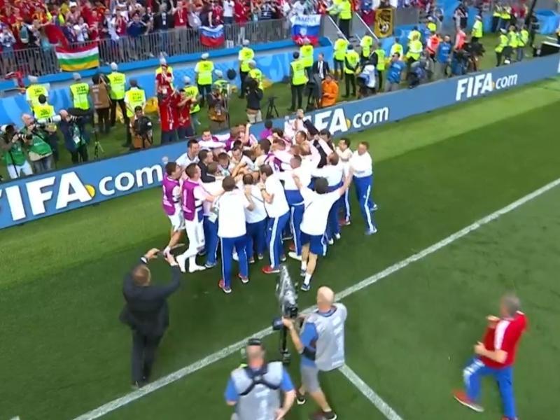 Сборная России вышла в 1/4 чемпионата мира по футболу