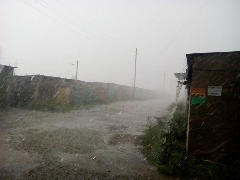 Дожди в Чите побили рекорд с начала века